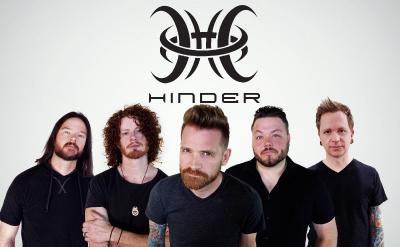 Hinder - Saturday August 6, 2021, Doors 7:30pm